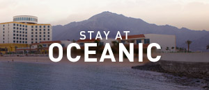 Stay at Oceanic Hotel