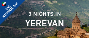 3 nights in Yerevan Armenia -...