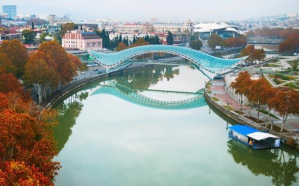 Glass Bridge of Peace - Georgia Holidays