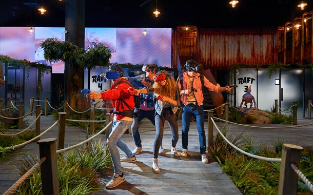 VR park - Shooting Games game zone Dubai 3